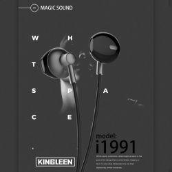 Earbuds, Hoofdtelefoons met het Lawaai die van de Microfoon Knoppen van het Oor van de Oortelefoons van Earbuds van Hoofdtelefoons de Zware Diepe Bas, in de Hoofdtelefoons van het Oor voor de Androïde Telefoon van iPhone isoleren iPad