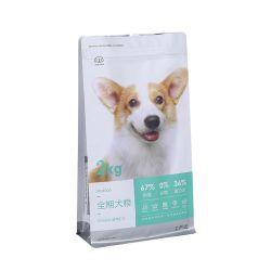 Reißverschluss-Verschluss-Geruch-Beweis-kundenspezifischer Plastik gedruckter Aluminiumfolie-Fastfood- Beutel für Haustier-Hundekatze-Nahrung
