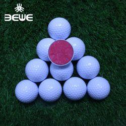 Personalizada profesional 3 Capas Surlyn Torneo Bola de Golf