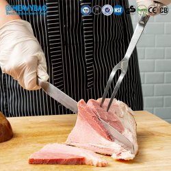 Heavybao посудой из нержавеющей стали кухонные принадлежности кухня вилочный захват мясо вилы вилы для барбекю