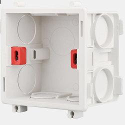 Fiação do Interruptor de parede elétrica de PVC de transferência de slot a caixa de junção