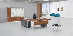 Металл в форме буквы L ноги современной деревянной компьютера ноутбук Office Desk (M-T1803)