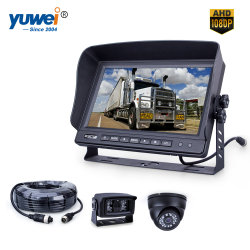 """10.1"""" Ahd Vigilancia 1080P Coche Espejo Sistema de cámara para la seguridad del vehículo Vision"""