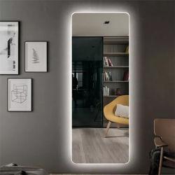 도매 현대적인 패셔너블한 백라이트 벽 장식 전체 길이 LED 거울