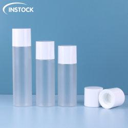 تغليف تجميلي عبوة مسحوق حبر 100/120/150 مل مع سدادة داخلية لـ مستحضرات التجميل ماكياج نويل تلميع زجاجات البلاستيك مرة أخرى