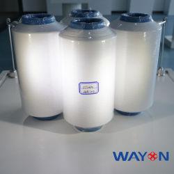 Fibra chimica del filamento di Materia della resina bianca di 100% PTFE