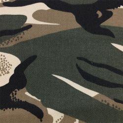 OEM past Aop Printedflat Militair Afdrukken van het Scherm/Camouflage van de Druk van het Pigment van het Leger de Eenvormige de TextielStof van CVC aan 60/40 Keperstof Cotton/Polyester