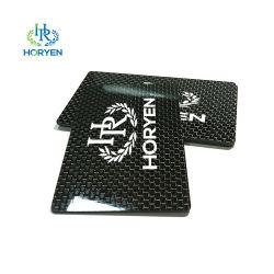Personalizado de alta calidad de corte CNC Productos de fibra de carbono Fibra de carbono de lujo en tarjetas de visita Tarjetas de nombre