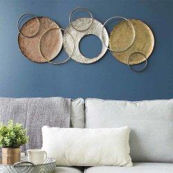 Arredamento domestico modello circolare metallo Art Design Wall