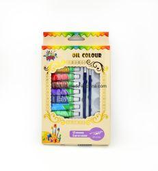 Cores de tinta Óleo Artista Multi-Color definido para pintura