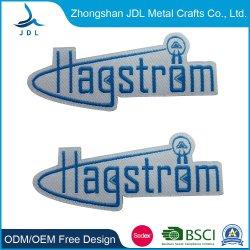 Mode Accessoires Personalisierte USA Bubblegum Logo Woven Label Patch (014)