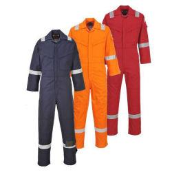La sécurité des travailleurs en usine industrielle globale uniforme 100% coton Vêtements réfléchissants Vêtements de travail