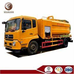 Dongfeng 10cbm Vrachtwagen die van de Tanker van de Zuiging van de Tank van 15cbm 18cbm VacuümRiolering van Vrachtwagen van de Zuiging van de Hoge druk van het Riool de Vacuüm leegmaken