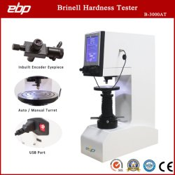 Hbw Bhn digital automático de teste de dureza Brinell B-3000em