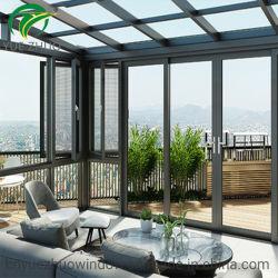 Bastidor de aluminio personalizado Solarium jardín de invierno casa de cristal