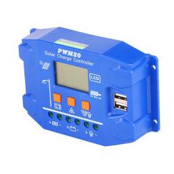 Regolatore solare del caricatore di Sug SD-20/30/40/50/60A 48V con riconoscimento automatico di doppio disegno del USB nuovo per la batteria al piombo