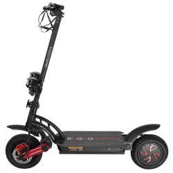 Kugoo G-Booster, E-Bike Pneu 10 pouces 800W * 2 Moteur adulte debout Scooter électrique avec 48V 20Ah 55km / h Scooters de gaz