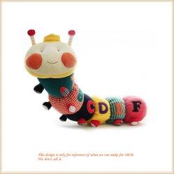 Juguetes de bebé Caterpillar Musical juguete educativo con los juguetes de peluche Campana