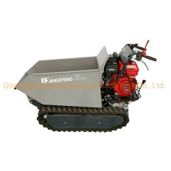 CE 0301cmini Dumper Barrow oruga de la potencia de transmisión hidráulica camión para trabajos agrícolas