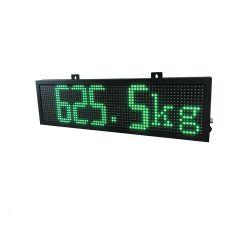 사용자 지정 번호 IP 67 4자리 7자리 세그먼트 중량 표시기 트럭 저울 LED 디스플레이