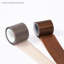 Fibra de vidrio PTFE resistente al calor de cinta de tela adhesiva