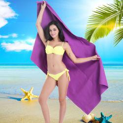 Toallas de playa gratis Arena, el logotipo personalizado ligera de secado rápido Toalla de microfibra, Viajes Piscina baño de toalla para un gimnasio deportivo compacto de Yoga, toallas de piscina impreso