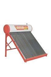 プールの太陽給湯装置