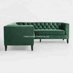 Лесной зеленый вид в разрезе диван деревянные Fram бархатной мебели угловой стойки