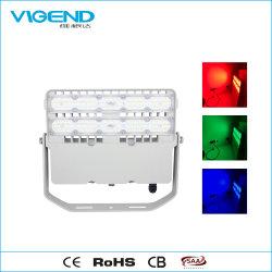 リモート・コントロール2.4G屋外の照明のためにRFの100W LED RGBの洪水ライトLEDは防水する