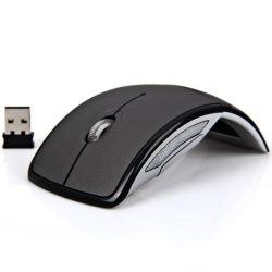 Wireless Mouse fotoeléctrico, la fábrica de plegado al por mayor de ratón, ratón Regalos personalizados