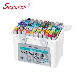 Tual spitzt permanenten Tinten-Typen Kunst-Markierungs-Feder-Set