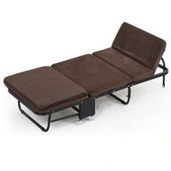 Mobili da ufficio moderni, letto pieghevole in ferro metallico all'aperto