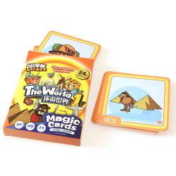Cards de Magic Neobear 100% Eco-Friendly Puzzle jogos de quebra-cabeças para a aprendizagem da criança brinquedos