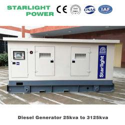 مولد صامت بقدرة 250 كيلوفولت أمبير مع مجموعة وقود الديزل من Weichai/مجموعة مولد Genset ISO 8528 قياسي