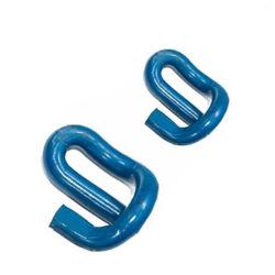 A placa de retenção e o clipe de rampa elástica