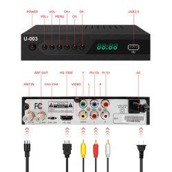 جهاز استقبال تلفزيون رقمي ATSC TV Set Top Box