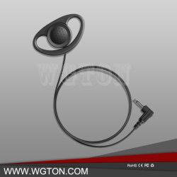 Bidirektionale Ohr-Haken-Hörmuschel-Geräusche des Radio-2.5/3.5mm Jack, die Kopfhörer für Funksprechgerät Xpr 7000e Xpr 7550e Xpr 7580e Xpr 7350e Xpr 7380e beenden