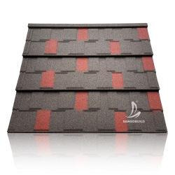중국 제조 고품질 저가 지붕의 건축 자재 철강 석재로 코팅된 금속 지붕재 타일