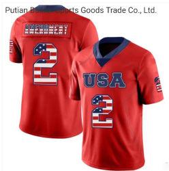 Commerce de gros chaud polyester tendance unisexe Sports Football Jersey n° 2