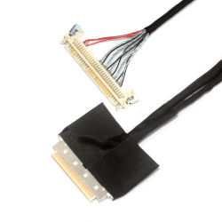 Custom 0,5 mm I-Pex 20pin Ipex 50 40 30 Aces 88441 Pin cable LVDS PARA DELL Asus Sony tipos