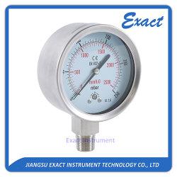 Mbar Gauge-Low Manometer-Capsule Manómetro de presión
