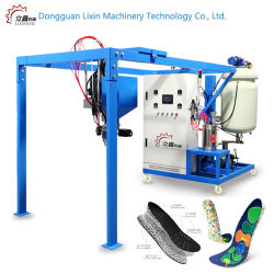 E-Máquina de TPU PU suela de zapato de la máquina que hace la máquina E-Maquinaria de Suela de TPU de baja presión de espuma de poliuretano espuma de poliuretano de suela de la máquina La máquina la máquina