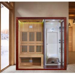 El mejor precio el cuarto de baño de vapor húmedo Cambine cabina de ducha de hidromasaje cabina Sauna Infrarrojo Lejano