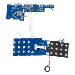 Quarto Duplo/Individual personalizado/Multilayer 94V0 RoHS PCBA da placa de circuito impresso da placa de circuitos impressos do Conjunto de fechadura de porta digital inteligente