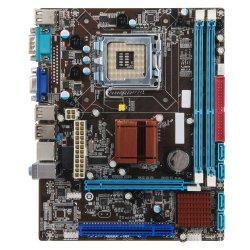 Scheda madre di Esonic G41 LGA775, 2X DDR2 Mainboard