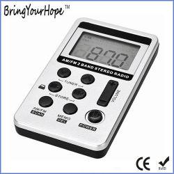 FM suis deux bandes radio d'affichage numérique rechargeable portable (XH-FM-020)