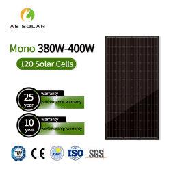 250W 330W 335W a 340W a 500W negro Panel Solar monocristalino de Mono y poli fotovoltaica y la mitad de un panel solar y la energía solar módulo FV