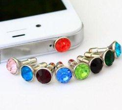 オーディオジャック用カスタム Crystal Cell Mobile Phone Dustproof プラグ