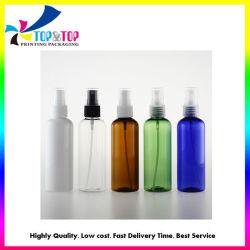 Bottiglie portatili dello spruzzo della foschia dell'indennità del prodotto disinfettante della mano dell'animale domestico di disinfezione di plastica vuota poco costosa dell'alcool