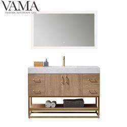 Vama modernos de madera de 48 pulgadas de la vanidad de baño Muebles de Baño 789048